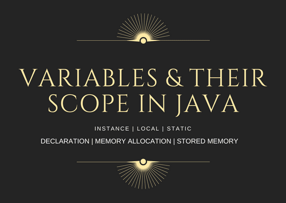 java variables,scope of variables in java,java variable declaration,instance variable,static variables in java,types of variables in java,local variables in java