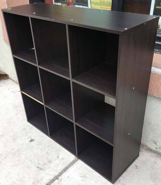 3 x 3 Cubby Bookcase - $25