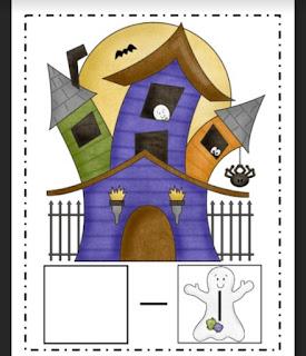Halloween Subtraction {FREEBIE}