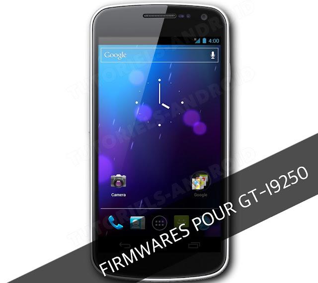 ROMs pour GT-I9250