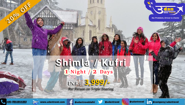 Himachal Holiday Package - Shimla Tour packages from Delhi | Udan Blog