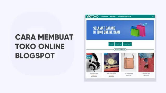 cara membuat toko online dengan blogspot