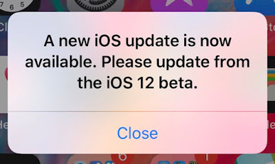 Download iOS 12 beta 12 with Alert Fix