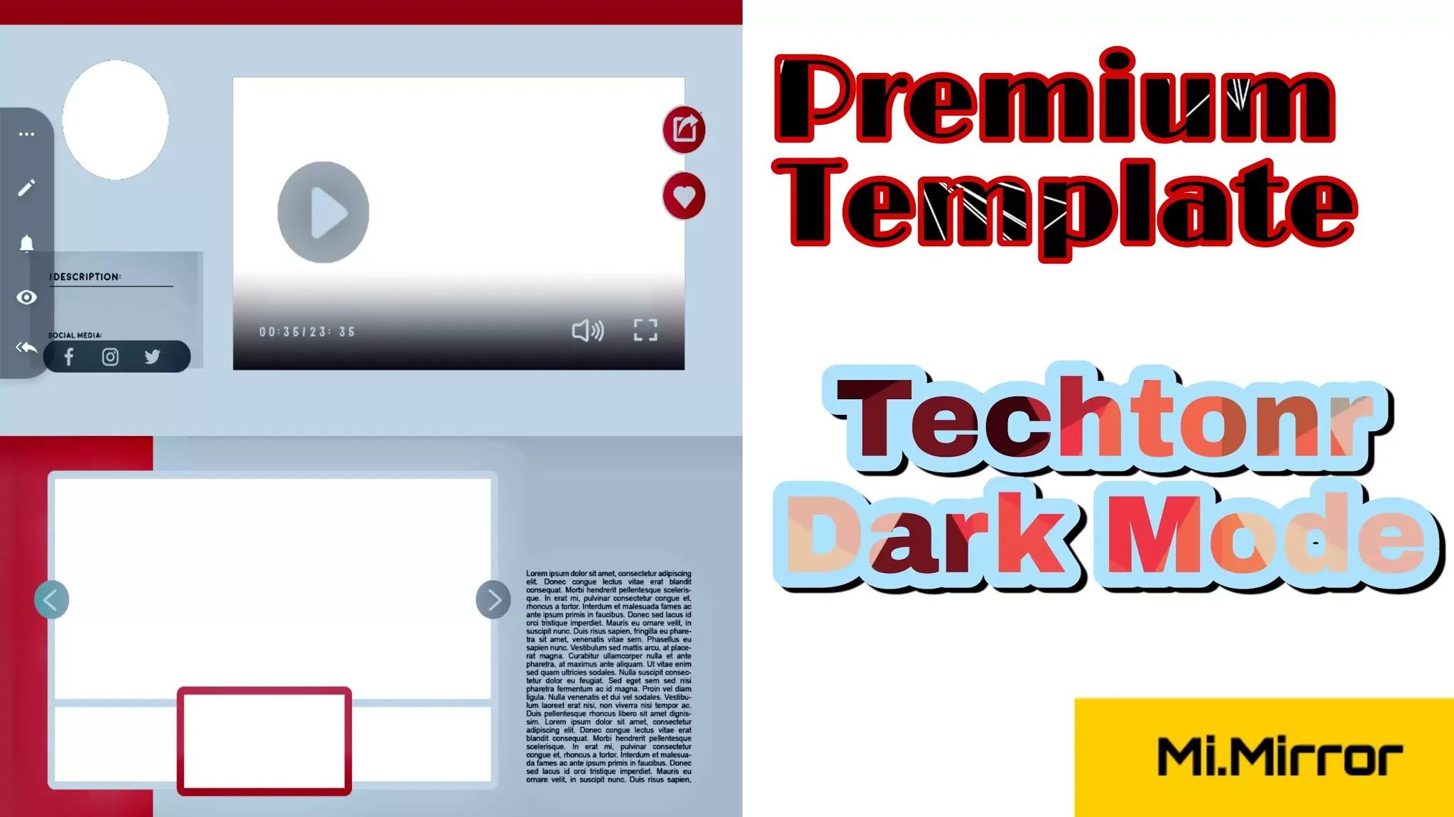 Mironiyar,Techtonr,Dark,mode,Free,seo,Mobile Friendly,Blogger,Theme,Responsive,Template