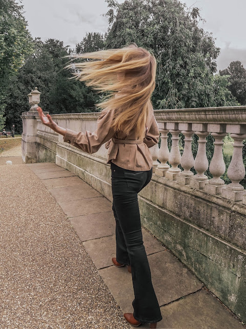 london fashion blog hair flip