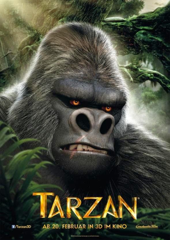 Tarzan ทาร์ซาน 2014 [HD][พากย์ไทย]
