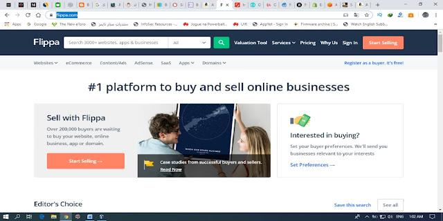 الموقع الخامس موقع الربح من الانترنت FLIPPA .