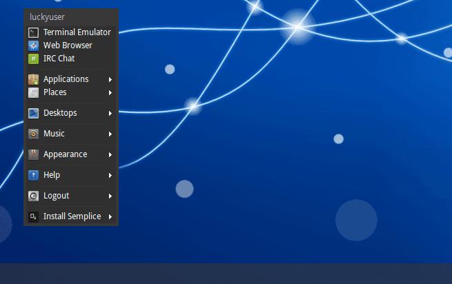 semplice linux