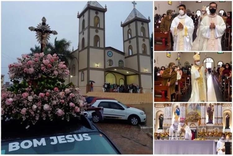 Festa do Senhor Bom Jesus é celebrada em Barra da Estiva