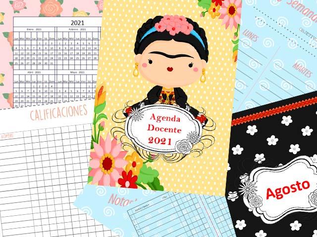 Agenda Docente Frida 2021 - 177 páginas