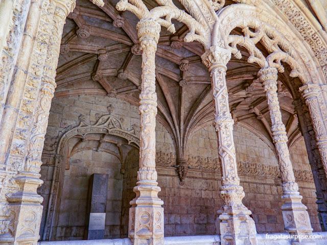 O estilo manuelino no Mosteiro dos Jerónimos, Lisboa
