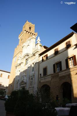 Il Duomo di Pitigliano rimaneggiato nel corso degli anni