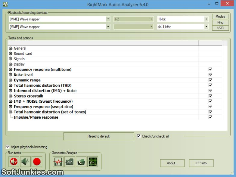 RightMark Audio Analyzer 6.4 Download Free Full Setup