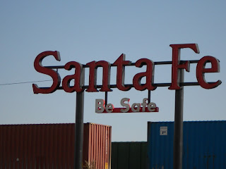 atchison topeka and santa fe railroad sign