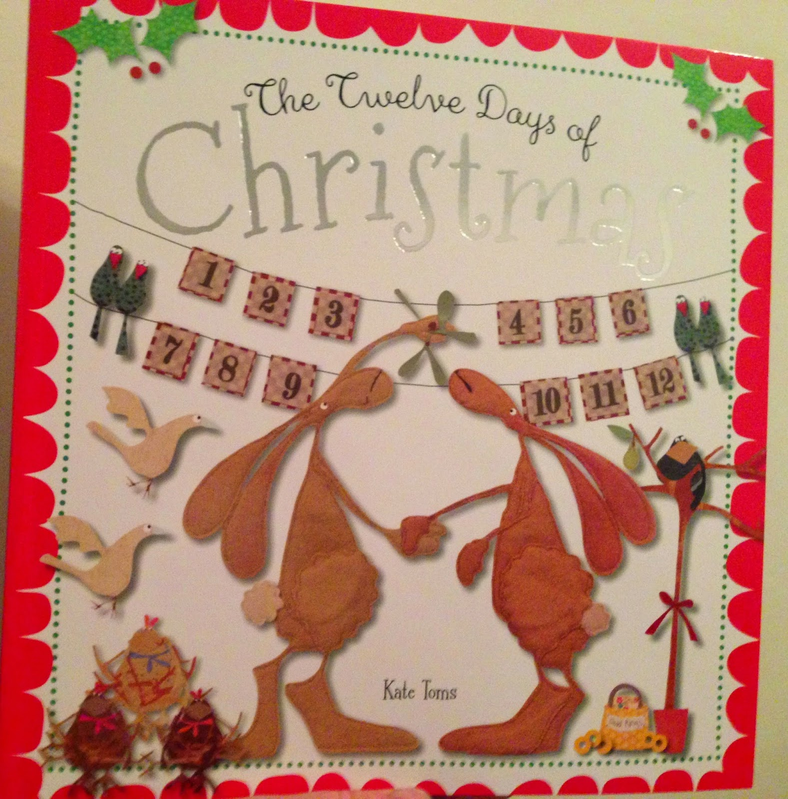 Our Christmas Book Advent tree | Ideas for the Best Children's Books to Buy this Christmas - the 12 days of christmas