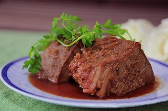 Thịt bò rim