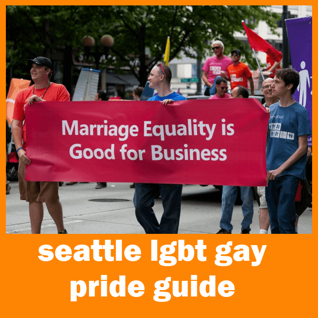 Seattle Gay Pride Guide 2014