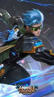 Gusion Cyber Ops Heroes Assassin Mage of Skins October Starlight 2018 V1