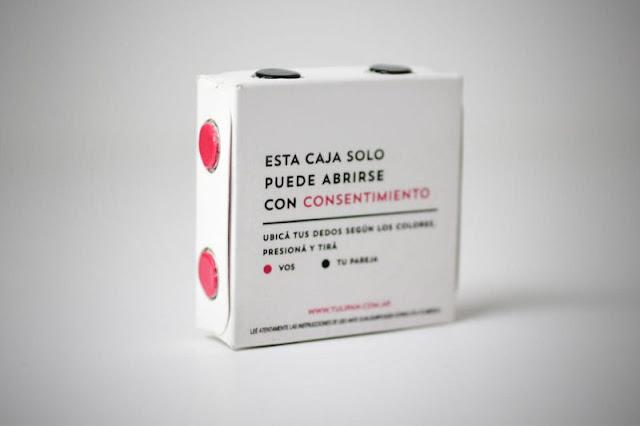 Crean el 'pack del consentimiento', condón que se abre con cuatro manos
