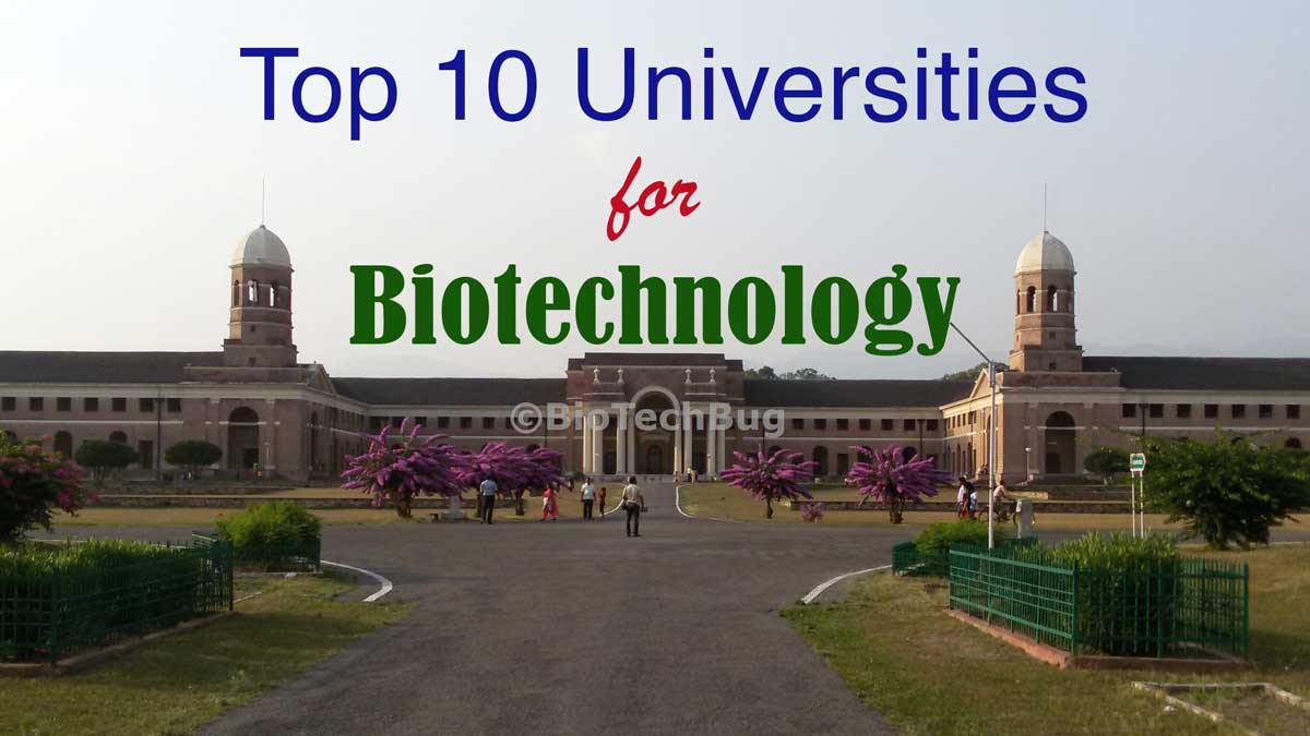 top biotechnology university in india