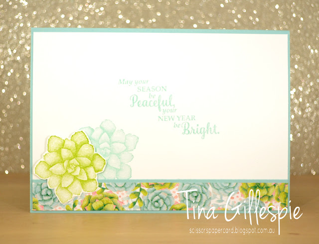 scissorspapercard, Stampin' Up!, Art With Heart, Colour Creations, Painted Seasons Bundle, Star Of Light, Rectangle Stitched Framelits, Stitched Shapes Framelits, Christmas