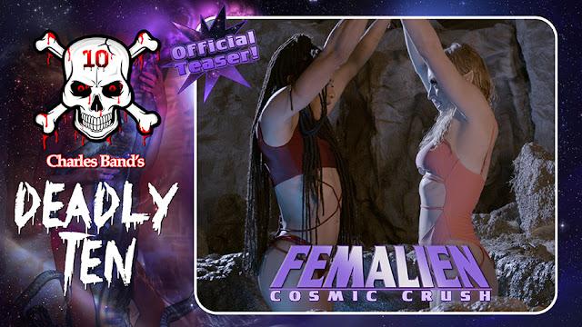 """'Femalien: Cosmic Crush': La nueva producción """"ultra-erótica"""" de Charles Band [Tráiler]"""