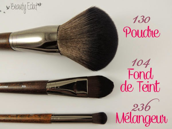 revue avis test pinceaux make up for ever