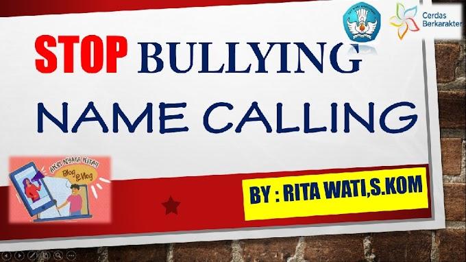 Stop Bullying Name Calling
