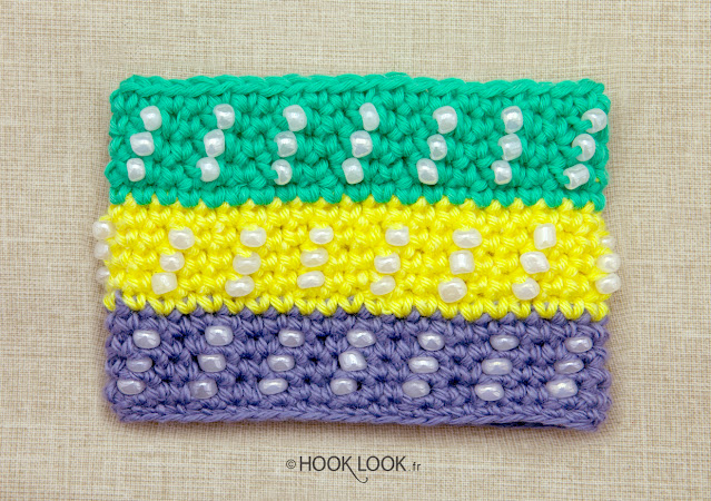 how to crochet pearls
