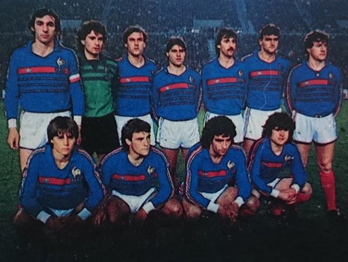 FRANCE-Allemagne 1984.