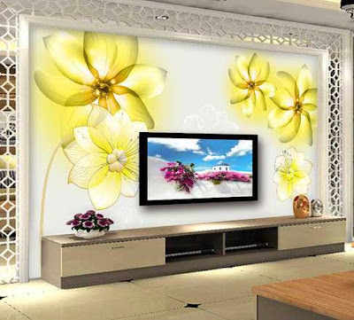 amazing 3D wallpaper for living room walls 3D wall murals images designs (9)