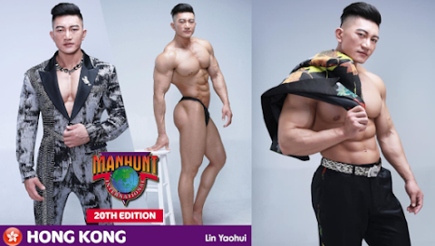 Lin Yaohui es Manhunt Hong Kong 2019