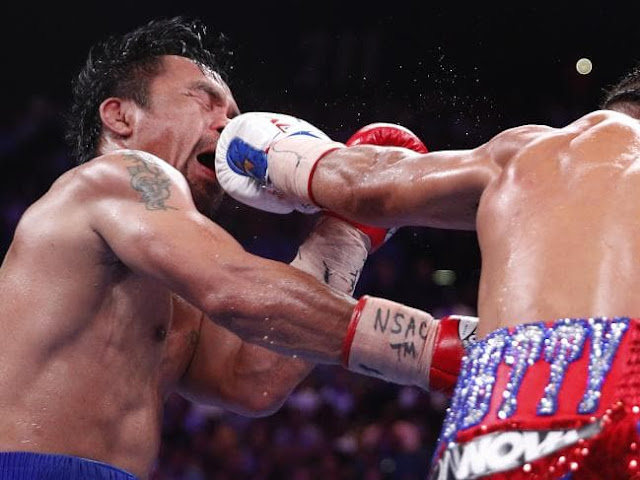 Money Pacquiao beats Keith Thurman
