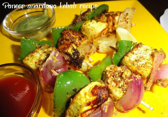 Delicious and Easy to Make Paneer Anardana Kebab Recipe