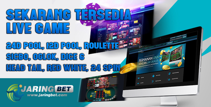Live Game 24D POOL, 12D POOL, ROULETTE, SICBO, OGLOK, DICE 6, HEAD TAIL, RED WHITE, 24 SPIN