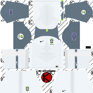 Brazil 2019 Copa America Kit - Dream League Soccer Kits
