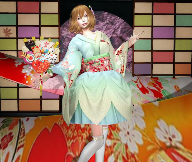 *PSS* Hanabira Kimono Dress