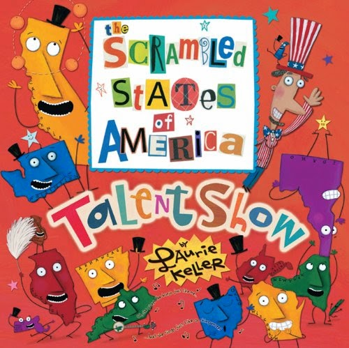 Scrambled States of America Talent Show, part of book review list about the United States