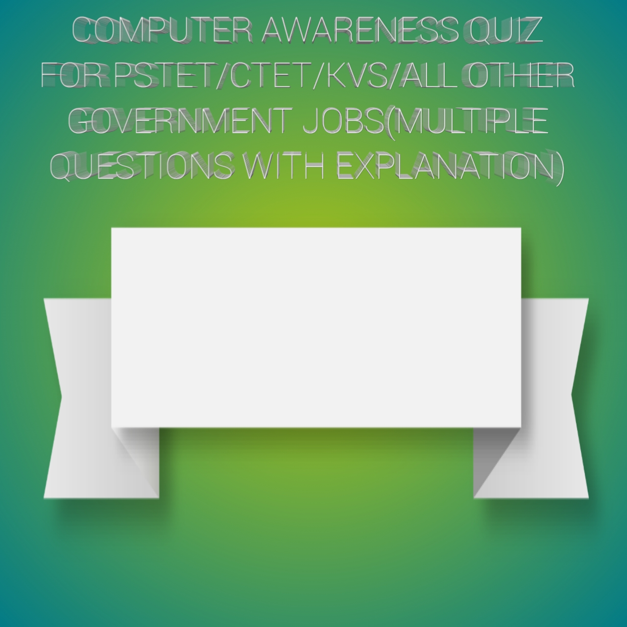 SET#3 COMPUTER RELATED QUIZ WITH FULL EXPLANATION
