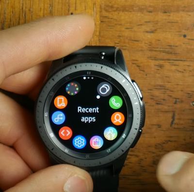 Samsung Galaxy Watch software