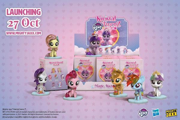 """""""Kwystal Fwenz"""" Series One G4 Pony Set!"""