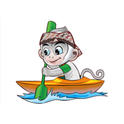 Logo dan Lambang Cabang Olahraga PON Jabar 2016 Canoeing
