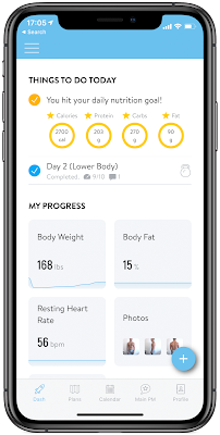 Taktikal Fitness app on iphone