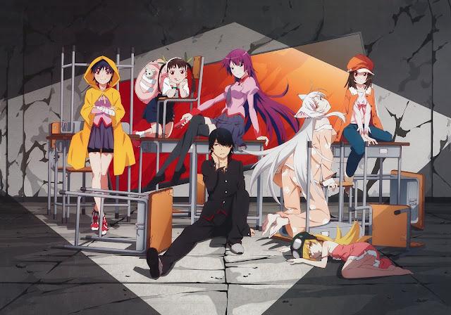 monogatari series anime
