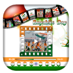 Republic Day Video Maker 2020 : 26 January Video