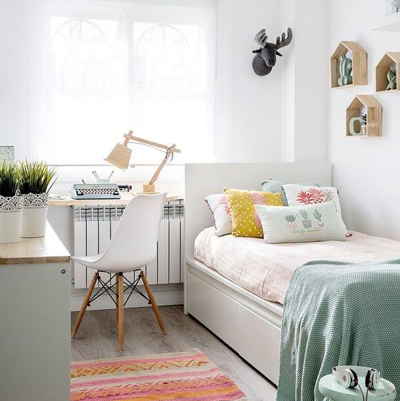 Ide Dekorasi Kamar Tidur Remaja Sederhana untuk Ruangan Sempit