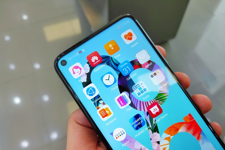Huawei Nova 5T Review Display