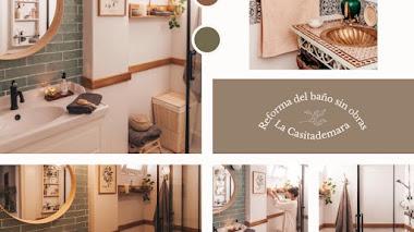 La reforma sin obras del baño de Tamara (La casita de mara)