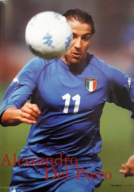 ALESSANDRO DEL PIERO OF ITALIA