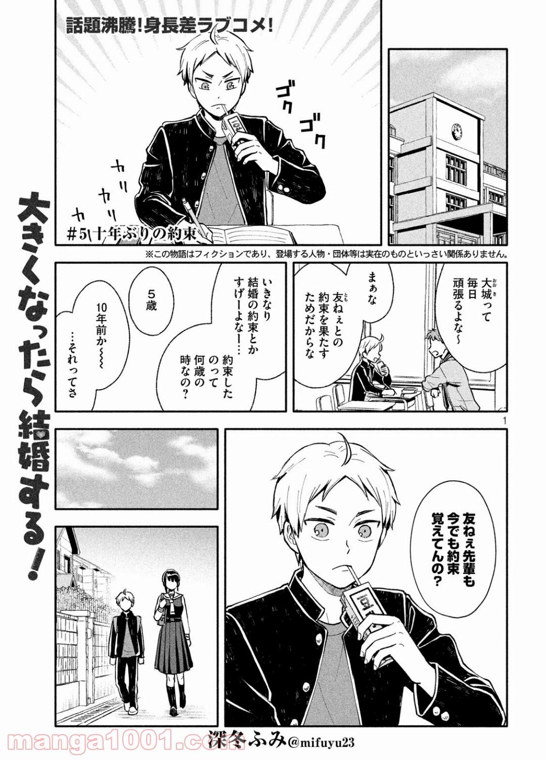 大きくなったら結婚する! - Raw 【第5話】 - Manga1001.com